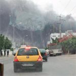 بالصور - صفاقس : حريق بالمنطقة الصناعية بودريار
