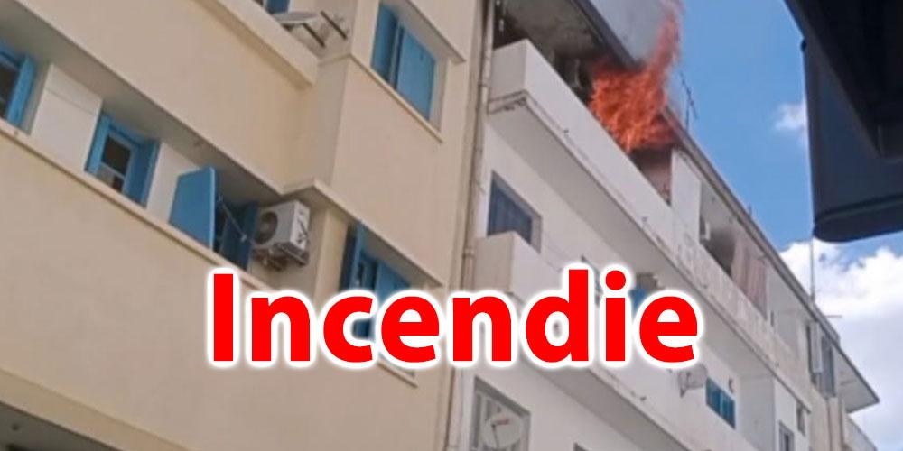 Tunisie: Incendie dans un appartement au centre-ville de Tunis