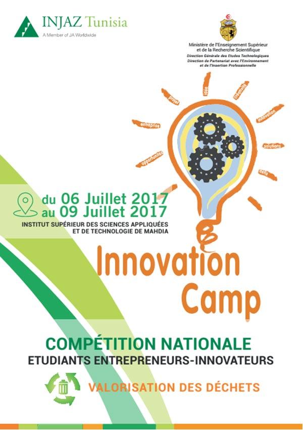 La deuxième édition du concours Innovation camp inter-universités organisé par Injaz Tunisia remportée par les étudiants de l'ENIT