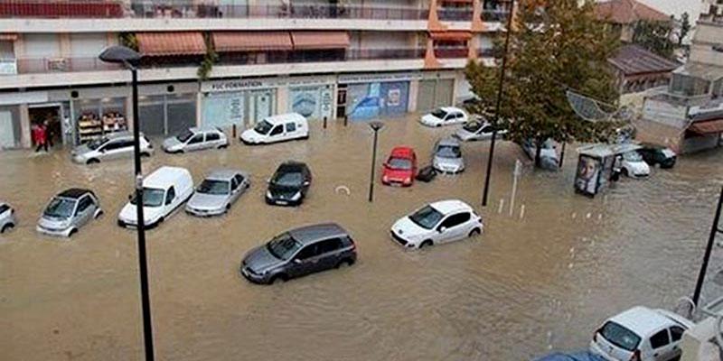 180 foyers ont été endommagés par les inondations à l'Ariana