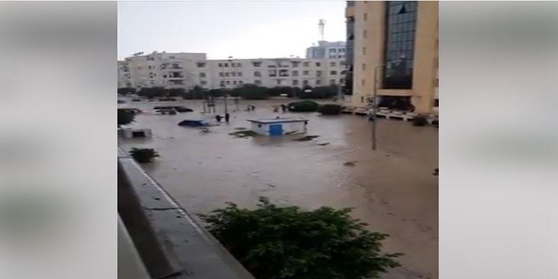 إثر نزول كميات هامة من الأمطار: الإدارة العامة للحرس الوطني تدعو إلى الحذر