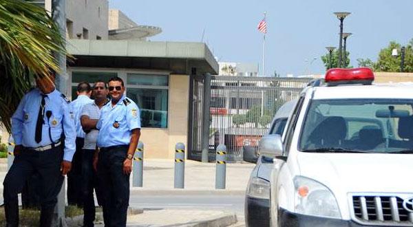 عملية أمنية بيضاء بسفارة الولايات المتحدة الأمريكية بتونس