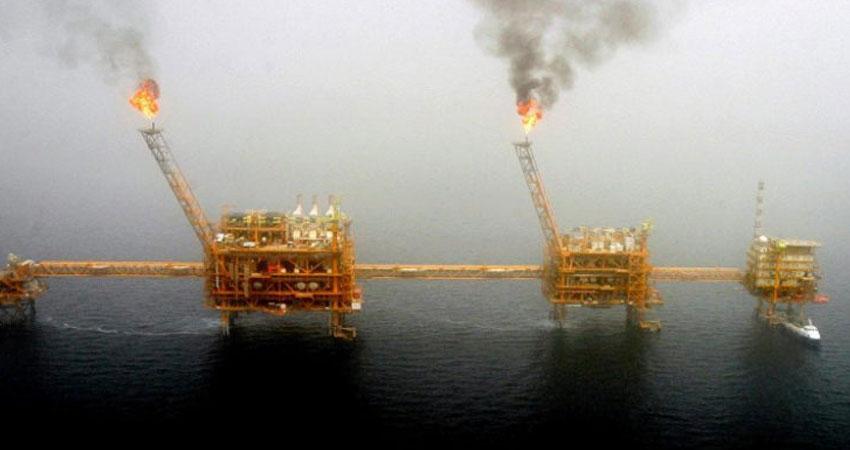 انفجار في منصة نفط مشتركة بين ايران وقطر في مياه الخليج