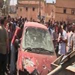 اصابة 12 طفل في بنغازي في انفجار قنبلة في ملعب أطفال