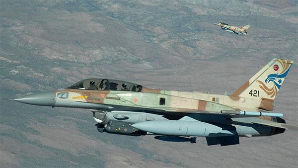 جيش النظام السوري يعلن عن إسقاط مقاتلة إسرائيلية وإصابة أخرى