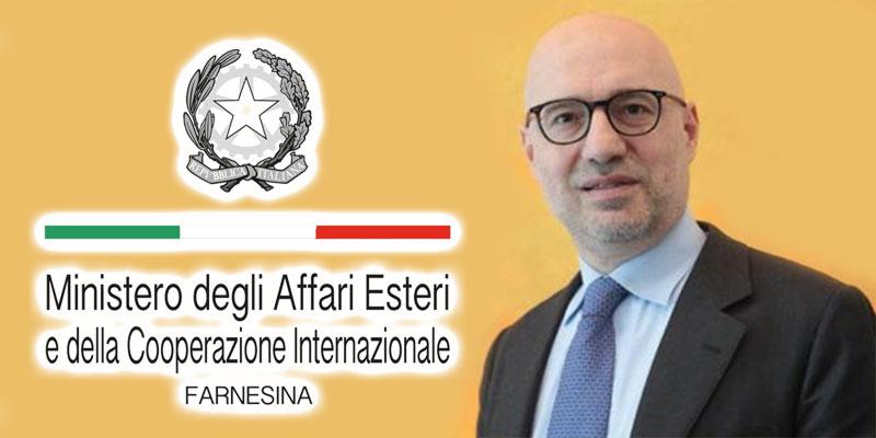 Qui est Lorenzo Fanara nouvel ambassadeur d'Italie à Tunis ?