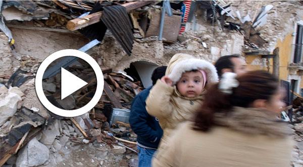 بالفيديو..ارتفاع حصيلة قتلى زلزال وسط إيطاليا
