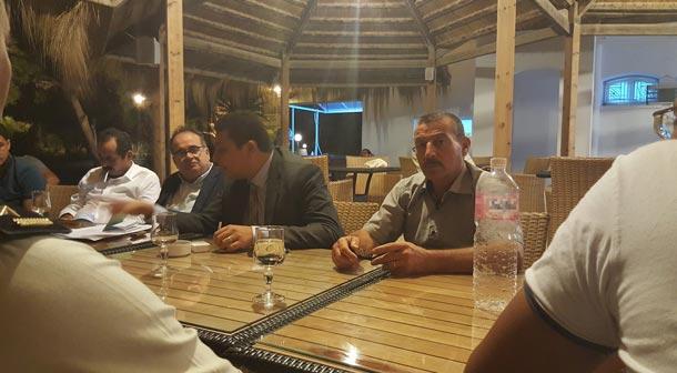 En photos : A Kerkennah, l'affaire Petrofac négociée entre le gouvernement et l'UDC