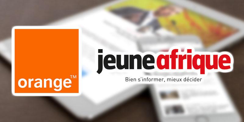 Jeune Afrique en exclusivité sur les mobiles Orange en Afrique