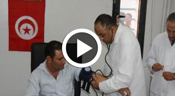 فيديو..قافلة صحية لفائدة قوات الأمن الداخلي وعائلاتهم بكل من باجة وجندوبة