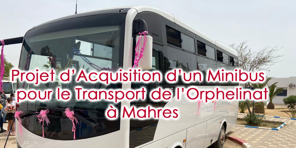 Cérémonie d'inauguration du 'Projet d'Acquisition d'un Minibus pour le Transport de  l'Orphelinat à Mahres '