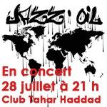 Jazz Oil en concert à Tunis