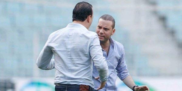 Photo du jour: Hussein Jenayah, Walid Arem, histoire d'amitié ou de fair-play ?