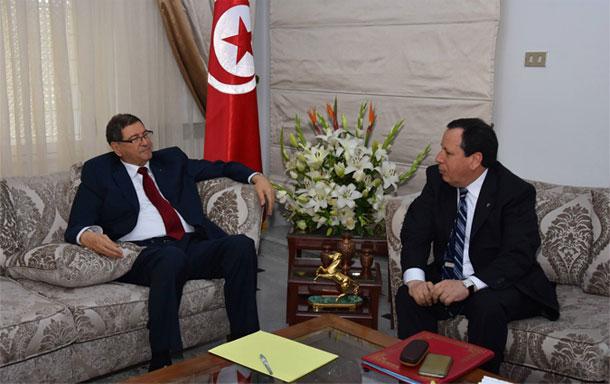 بأمر من رئيس الجمهورية ،الصيد و الجهيناوي في طرابلس اللّيبية