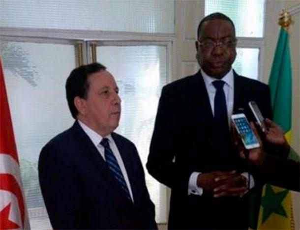 Le renforcement des relations tuniso-sénégalaises au menu de la visite officielle de Jhinaoui au Sénégal