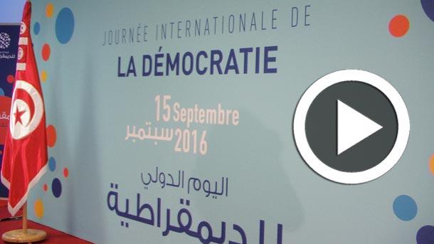En vidéos : La Tunisie célèbre la Journée Internationale de la Démocratie