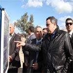 رئيس الحكومة يزور المعبر الحدودي بملّولة