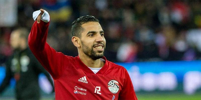 لاعب مصري, حديث مواقع التواصل بسبب أزمته الصحية