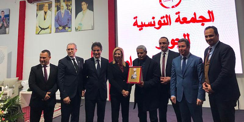 Cérémonie d'inauguration du Projet d'Extension de la Salle de Judo de Tunis