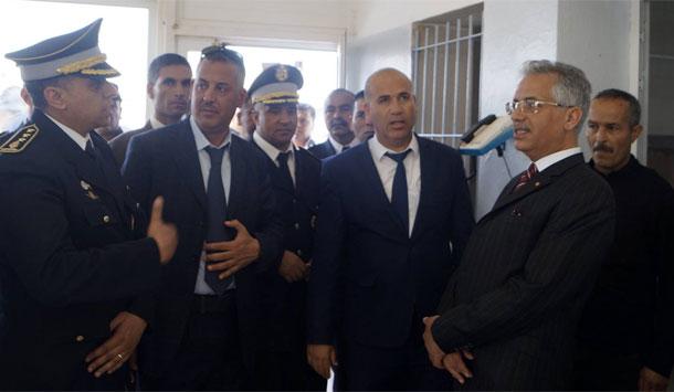وزير العدل يزور السجن المدني بصفاقس ويواسي الأعوان بعد فقد زميلهم