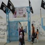 Kairouan : Les étendards noirs des salafistes brandis au lycée Al Aghaliba
