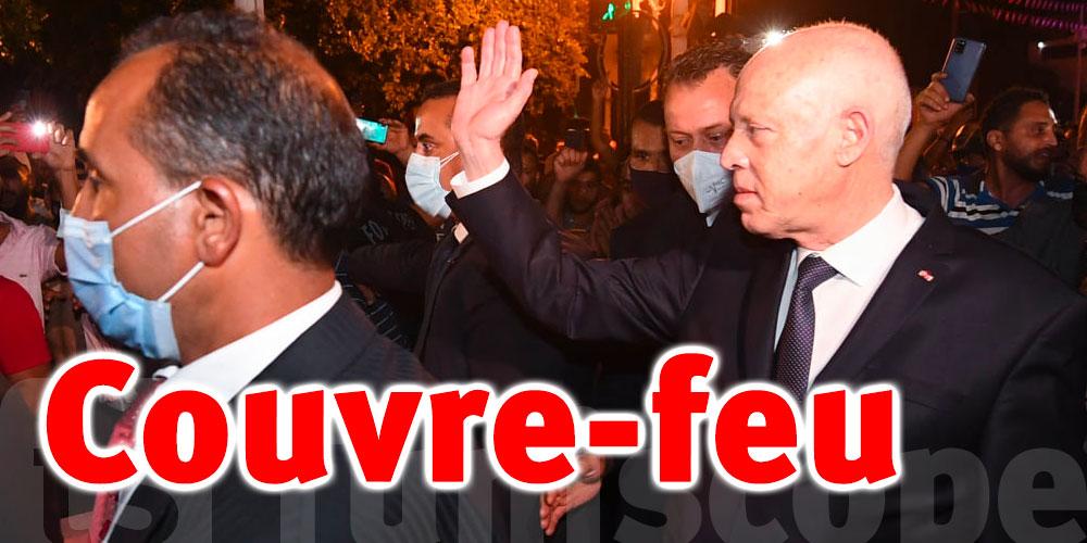 Tunisie-dernière minute : Changement de l'horaire du couvre-feu