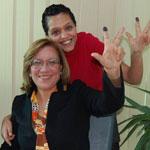 كلثوم كنّو : المرأة الوحيدة المرشّحة للإنتخابات الرئاسية تنتخب