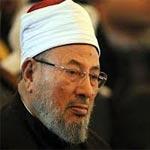 القرضاوي : المشاركة في الاستفتاء على الدستور المصري عمل محرم
