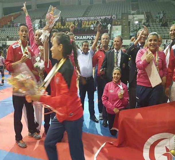 تونس الأولى إفريقيا في البطولة الإفريقية للكاراتي بـ19 ميدالية