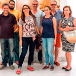 Karboul en visite nocturne 'décontractée' de l'expo sur les hammams de la médina