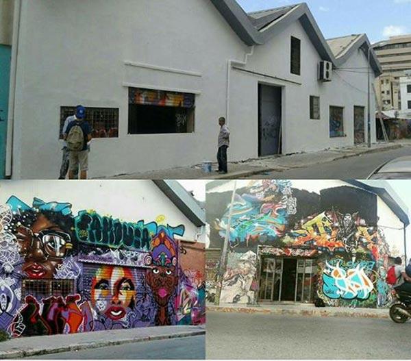 حول إزالة الـ '' graffiti'' عن الجدار: كريم الغربي يعلّق '' في تونس تجي تحلم يفيقوك''