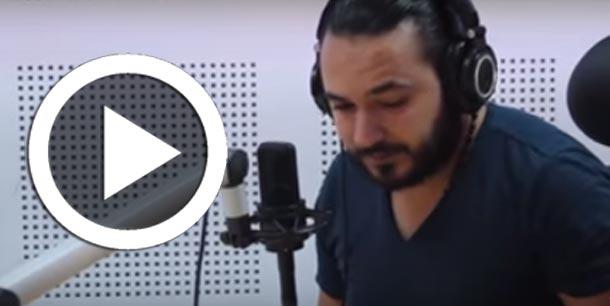 En vidéo : Karim Gharbi s'effondre en larmes en direct