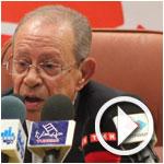 En Vidéo : Hamed Karoui présente les listes du Mouvement Destourien et s'exprime sur les législatives