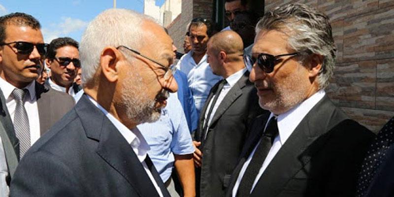 Une nouvelle rencontre Entre Rached Ghanouchi et Nabil Karoui