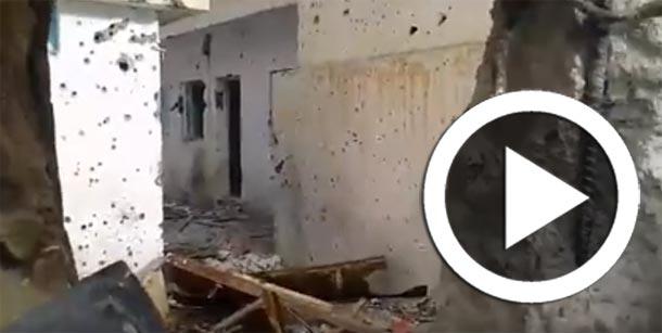 En vidéo : La maison où étaient retranchés les terroristes à la cité Karma à Kasserine