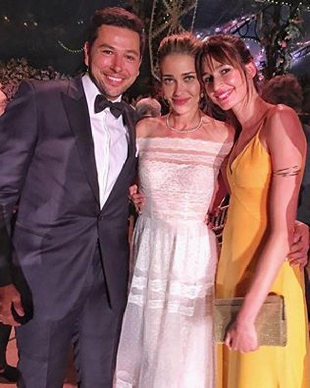 En photos : Kenza Fourati assiste au mariage du mannequin brésilien Ana Beatriz Barros