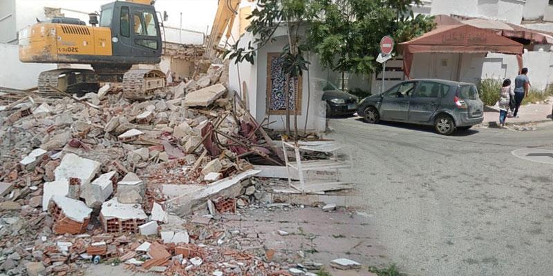 Entièrement démoli cette semaine, le légendaire restaurant ''EL Khalil'' ne laisse que des souvenirs
