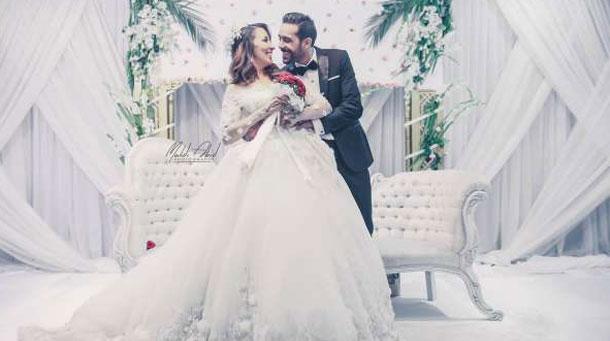 En photos : La comédienne Samah Dachraoui, 'Khemissa' se marie