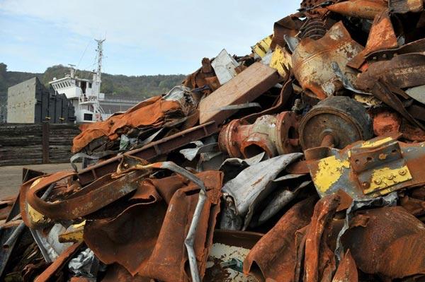 Zied Ladhari : Vers l'exportation de 700 mille tonnes de ferrailles