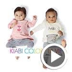 En vidéos : Découvrez la nouvelle collection bébés de Kiabi