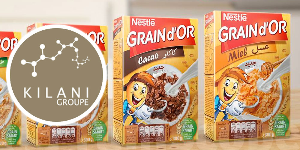 Nestlé vend son entreprise Grain d'Or à Kilani Groupe et lui confie la distribution de ses marques en Tunisie