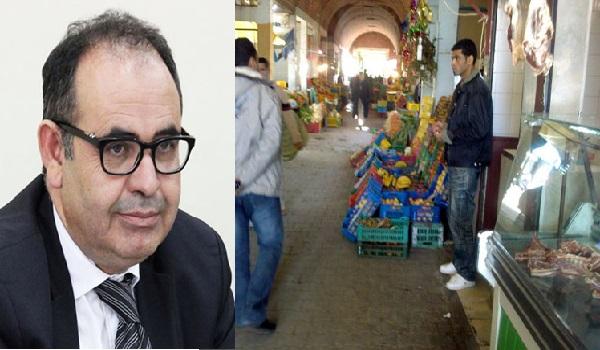 Face à la flambée, Mabrouk Korchid inspecte le marché municipal de Siliana