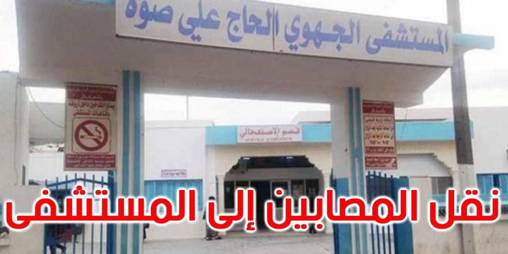بالفيديو: عاجل: سيارة تدهس 6 أشخاص في قصر هلال ووفاة أحدهم