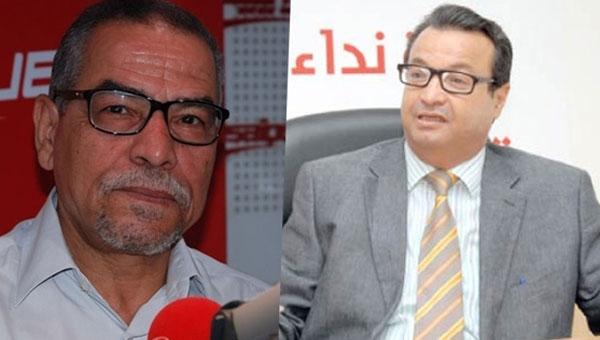 خميس قسيلة والناصر شويخ يستقيلان من كتلة النّداء