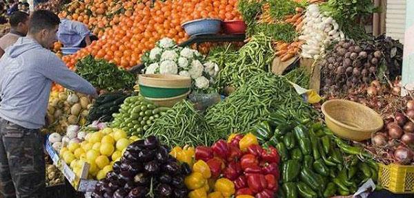 Les prix des légumes à la baisse