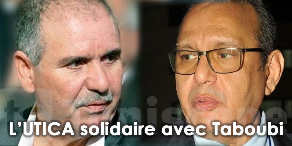 L'UTICA exprime sa solidarité avec Taboubi