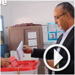 En Vidéo : Abdelkader Labbaoui vote à la Marsa