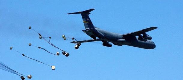 Les Etats Unis larguent 50 tonnes de munitions à « l'opposition modérée » syrienne