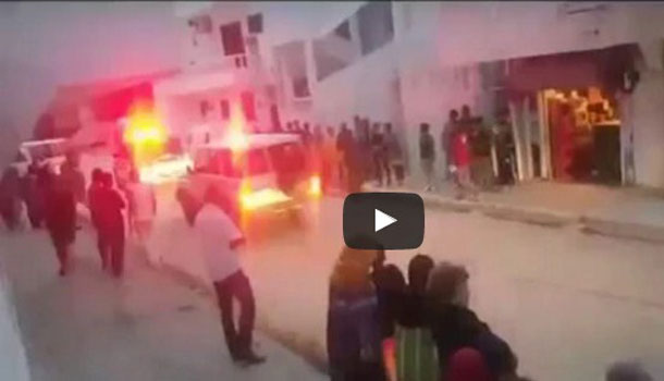En vidéo : Importante opération sécuritaire à la cité Essalama, à l'Aouina