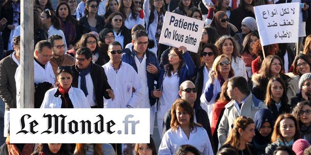 Le journal français Le Monde : « Tunisie : Et sinon la santé, ça va ? »